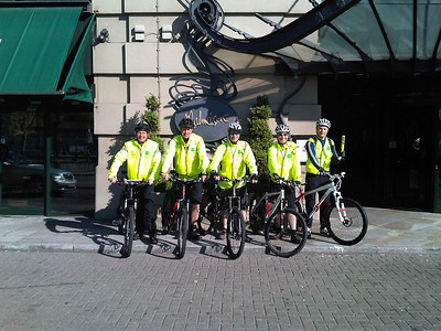 Day 1 - The challenge began after a 26 mile test run yesterday to ensure all the bikes were running well. Day one started with a good breakfast and some photos then at 9am we were on our way. Joining today was David Marston Mal/HdV marketing, Matt Burke from City Financial and Dan Burke Consultant Surgeon.