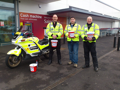 Nick, Oli & PJ, part of the 'Big Weekend Team' at Sainsbury's Odd Down.  Thanks to everyone for their generous support.