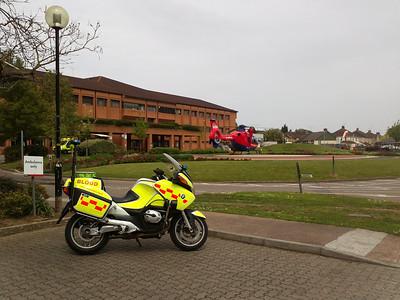 Devon Air Ambulance & No 4 @ Musgrove