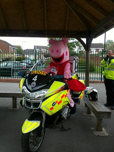 Pepper Pig @ St Marks School Fete 2013