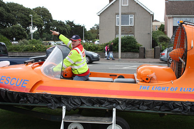 They won't have me so ,trying out for Burnham Rescue