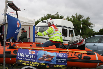 Me (Stevie B) trying out for the RNLI !!!