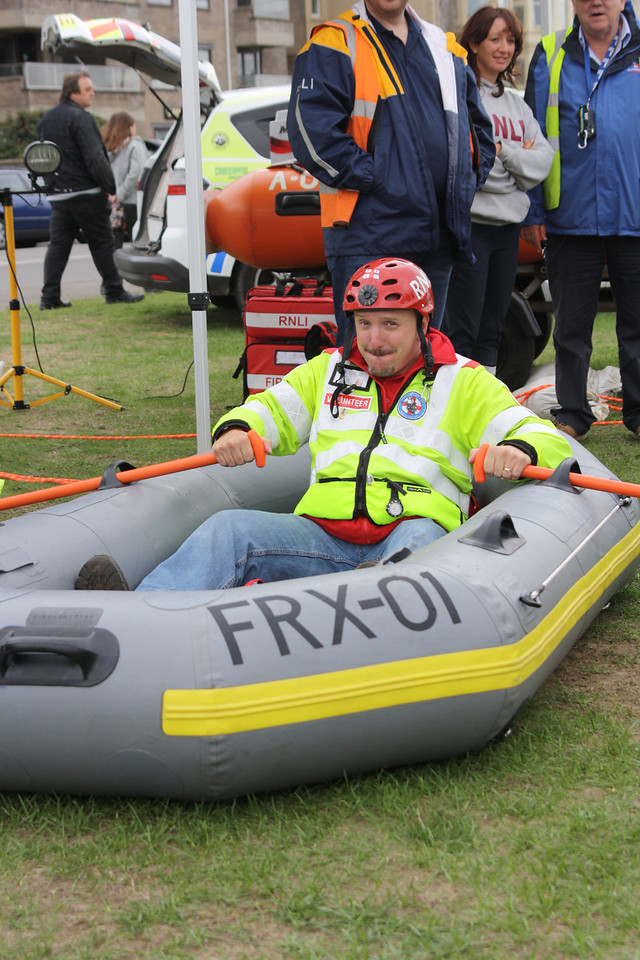 RNLI put my fitness to the test !