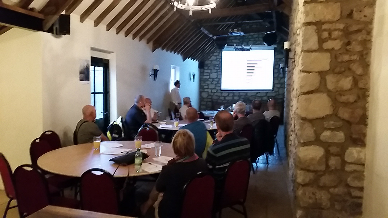 Stephen Wilkinson-Carr came along to our August members' meeting to talk about the science behind SMIDSY accidents.