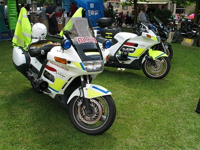 Freewheelers bikes at the Calne Bike Show in 2003