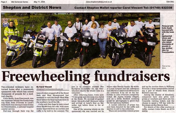 Freewheelers Events & Activities