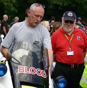 Bob Karlsson with John Woodgate