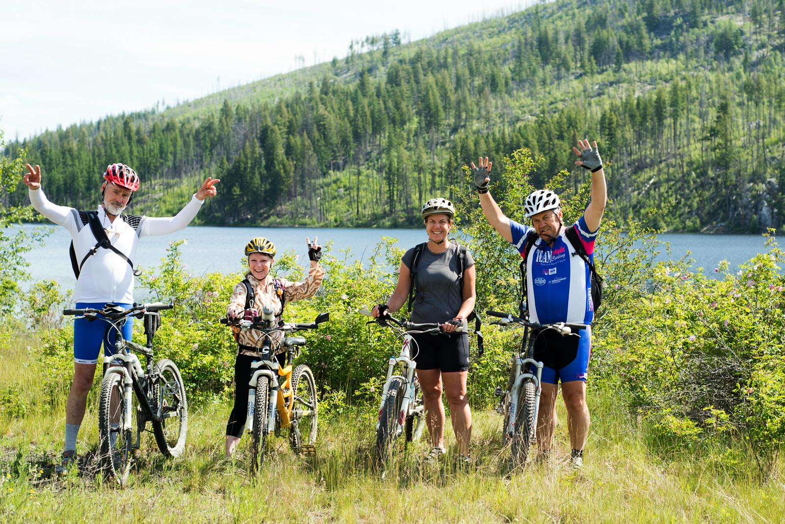 Canada: British Columbia Okanagan KVR Bike