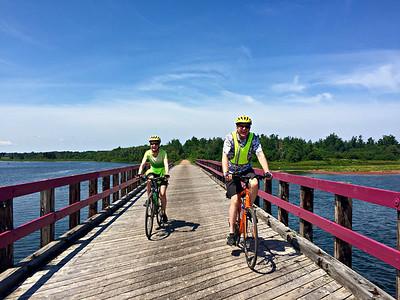 Canada: Prince Edward Island Confederation Trail Bike