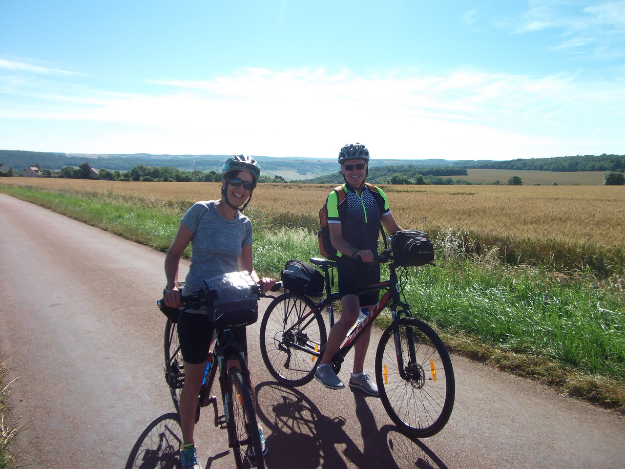 France: Burgundy Canals Bike