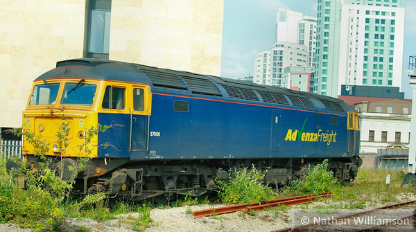 57006 stables in Cardiff Central  24/06/09