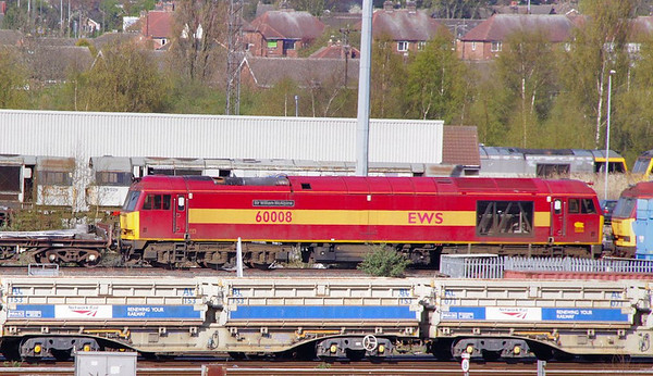 60008 stored at Toton  21/04/10