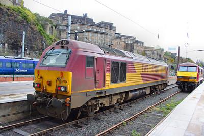 67024 in Edinburgh Waverley  17/04/12