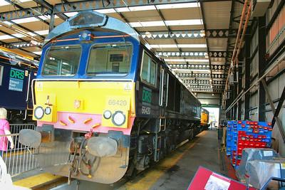 66420 on display in Kingmoor Open Day  11/07/09