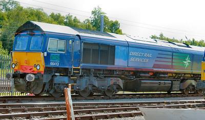 66413 on display in Kingmoor Open Day  11/07/09