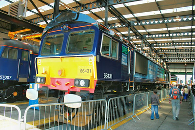 66431 on display in Kingmoor Open Day  11/07/09