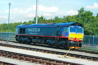 66412 on display in Kingmoor Open Day  11/07/09