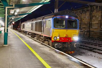 66412 calls at Carlisle on the: 4S44 12:18 Daventry to Coatbridge  29/11/10