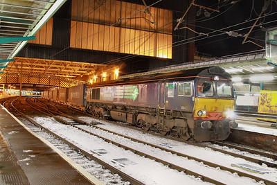 66418 calls at Carlisle on the: 4S44 12:18 Daventry to Coatbridge  30/11/10