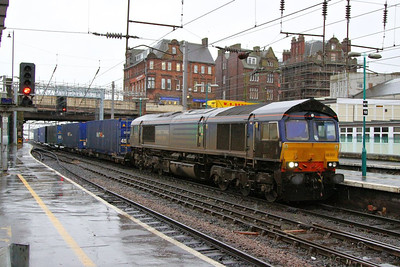 66302 arrives into Carlisle on the: 4M44 08:47 Mossend to Daventry  06/12/12