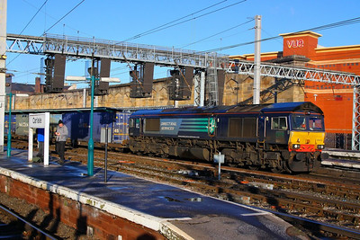 66430 departs Carlisle on the: 4M44 08:47 Mossend to Daventry  05/12/12