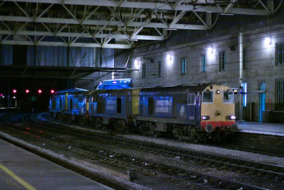 20312 + 20302 + 20303 + 20305 head north through Carlisle light engine forming the: 0Z20 16:47 York Thrall to Kingmoor  04/12/12  Watch the video at: http://youtu.be/fGVBWrcuUOc