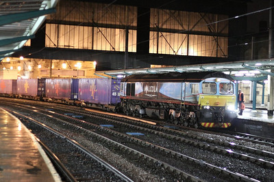 66434 calls at Carlisle working the: 4M82 15:56 Coatbridge to Daventry  06/12/12