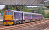 """73212 heads north through Totnes on the rear of a rake of FGW Mk3 buffet cars for storage in Eastleigh, forming the: 5O66 10:00 Laira to Eastleigh Works. 73206 & 73212 were used as Mk3 barrier coaches for the move.<br /> <br /> The consist was:<br /> 73206 + 40736 40725 40726 40744 40738 40709 40745 + 73212<br /> <br /> Watch the video at: <a href=""""http://youtu.be/b3wo0L6TMqI"""">http://youtu.be/b3wo0L6TMqI</a>"""