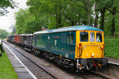 73119 calls at Blue Anchor on a Feight service: 08:00 Minehead to Bishops Lydeard  16/06/12