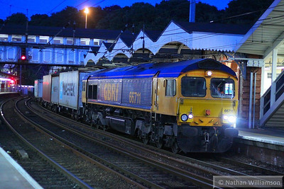 66711 calls at Ipswich on the: 4L18 14:18 Trafford Park to Felixstowe  07/06/13