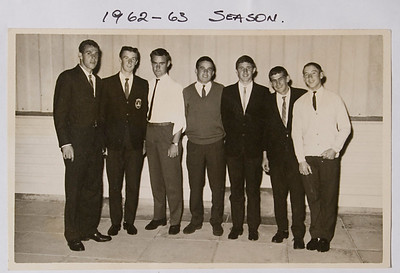 Port SLSC Art Hogan,Rod Brown,Peter Hampson,Peter Hawkins,Peter Greenslaw,Brian Cusack,Doug McLeod 1962/3