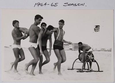 Port SLSC Peter Hampson (belt) Peter Hawkins (Reel) 1964/5