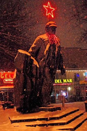 Snow in Fremont, December 2008