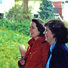Didi Anstett and City Councilmember Sue Donaldson at the site in the 1990s.