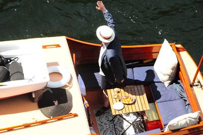 July 9, 2017  Historic Boat Parade     Commemorates Centennial of Locks opening