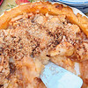 Relative newcomers Sam and his wife made this amazing apple pie from trees on their property.  Combined with Steve's hoomemade peach ice cream - unbelievable.