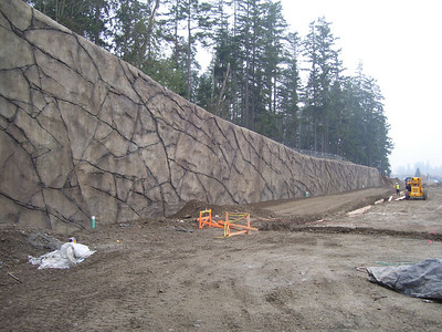 Shotcrete examples - July 2009