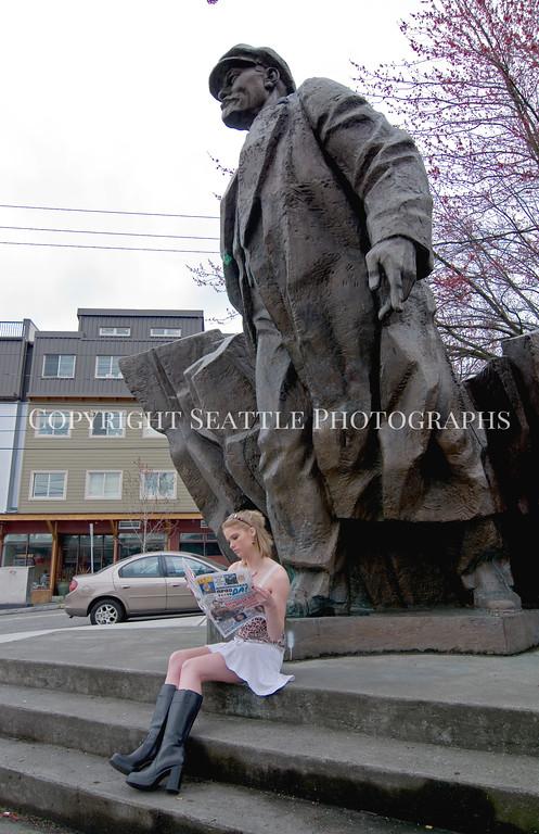 Lenin Statue 122