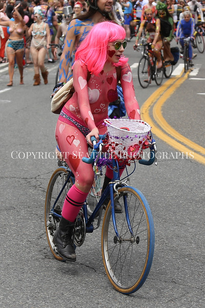 Naked Bike Ride 449 - this photography is not available for commercial use