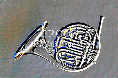 Complete French Horn Embossed 2082.38