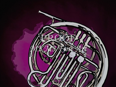 Paintings of French Horn 708.2059