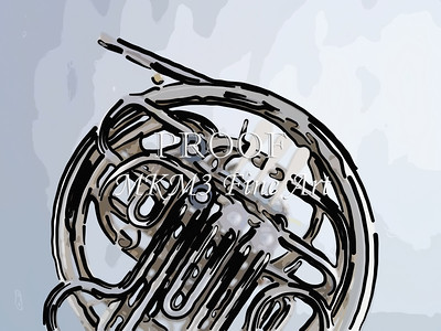 Paintings of French Horn 706.2059