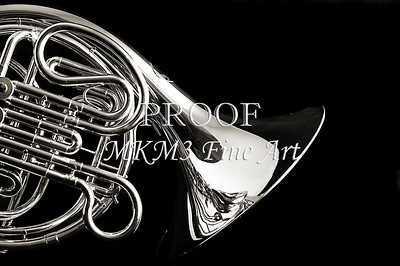 French Horn PIcture on Back 2080.32