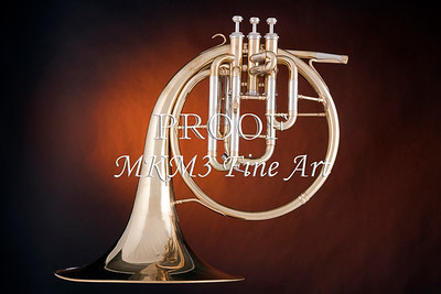 Classic Antique French Horn 2079. 06