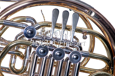 French Horn Rotors Metal Wall Art 2079.13