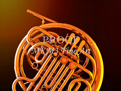 French Horn in Color 135.2059
