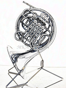 Drawing of French Horn 340.2059