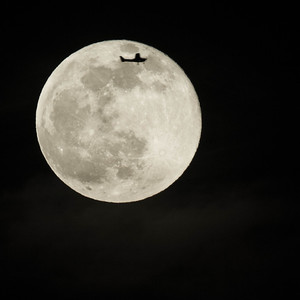 Fly me to the moon ...