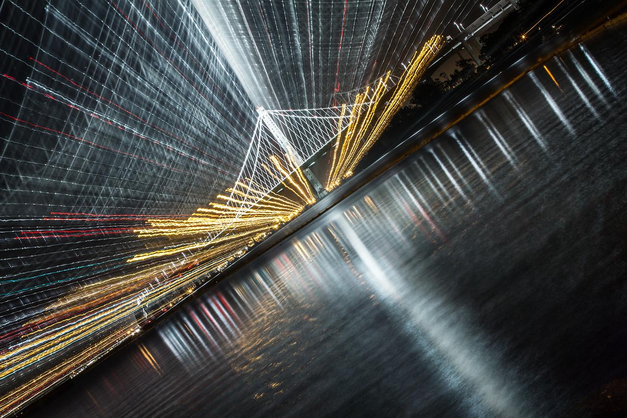 Zoom — Zoom — Zoom ... Oakland San Francisco Bay Bridge