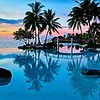 Tahiti Intercontinental sunset-13